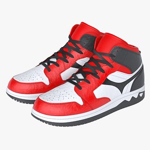 photoreal basketball shoes model
