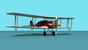 3D Airco DH-4  London Air Transport model