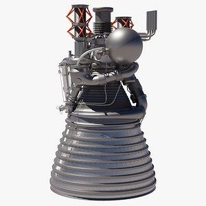 J-2 Rocket Engine 3D model