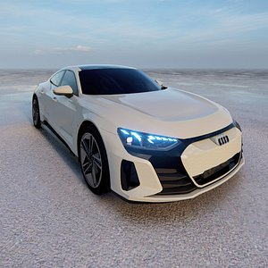 2022 Audi e-tron GT model 3D model