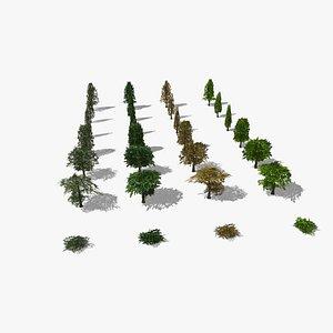 Trees RT 3D model