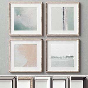 3D picture frames set-223