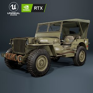 jeep willys military model