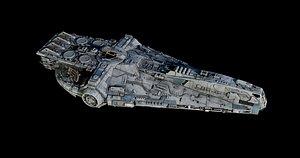 3D model ship yt -