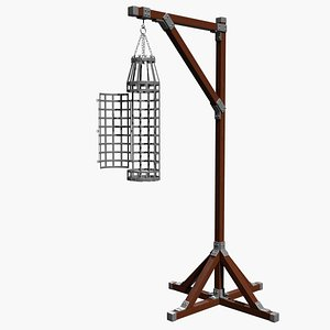 3D Gibbet and Cage