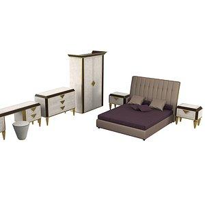 diamante bedroom set model