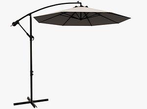 Patio Umbrella Open 3D model