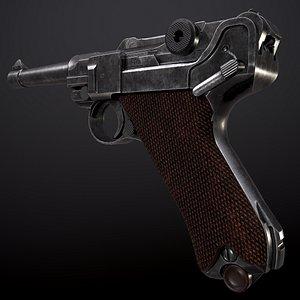 luger pistol model
