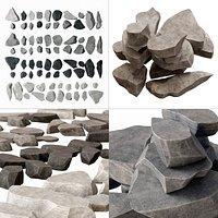 Rock stone plate splinter n1