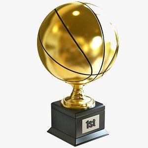 Basketball Award 3D model