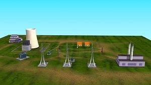 3D Power Transmission