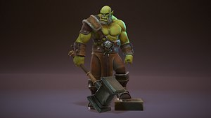 orc weapon animations 3D