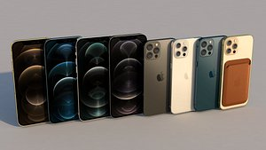 3D iphone 12 pro