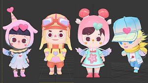 3D Cartoon character animation