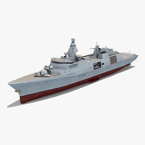 type 31 frigate 3D