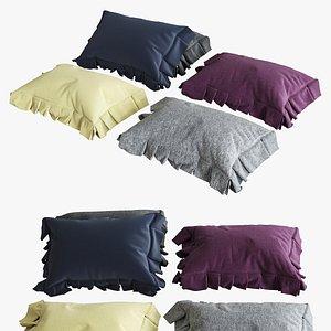 pillows color 01 3d max