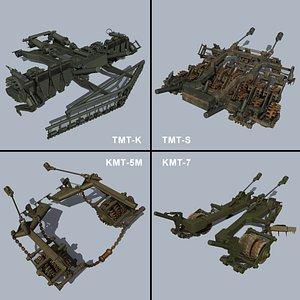 Tank Mine Rollers 3D model
