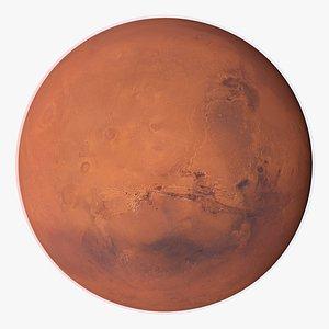 3D planet mars 46k model