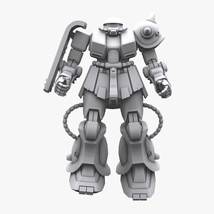 gundam mobile suit 3D model