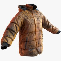 Dirty winter jacket