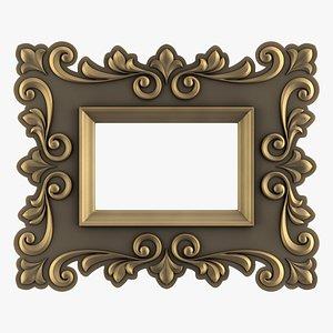 Artistic Picture Frame 3D model