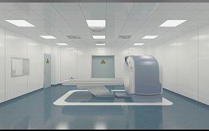 3D Hospital CT Room 2