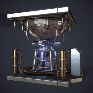 reactor core 3D