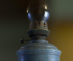 Old Lights and Lanterns 3D model