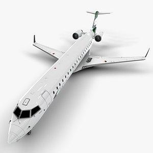 felix airways bombardier 3D model