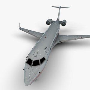 3D bombardier crj 200 l1132 model