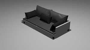 sofa couch furniture 3D