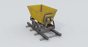 3D model Mine Wagon 1