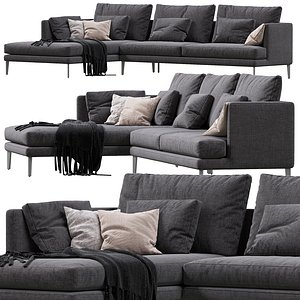 3D model sofa paraiso