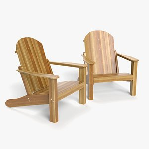 patio chair 3D model