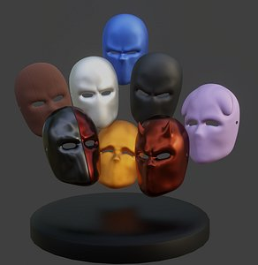 Mask Collection - All The Masks You Need 3D