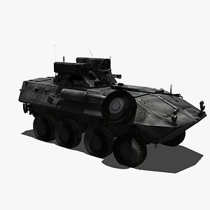 APC Military Armoured Personel Carrier 3D