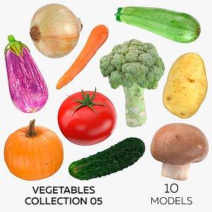 Vegetables Collection 05 - 10 models model