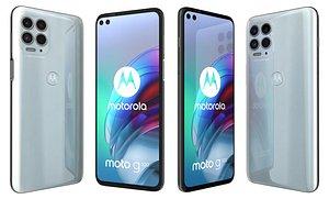 3D Motorola Moto G100 Iridescent Sky