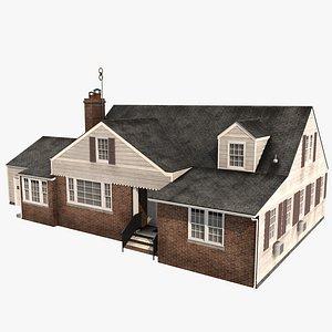 3D model New York House