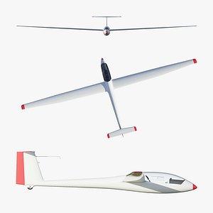 3D Rolladen-Schneider LS4 Glider model