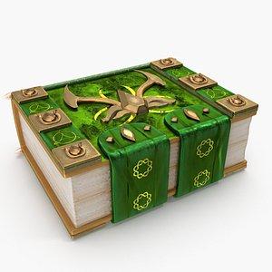 spell book 3D model
