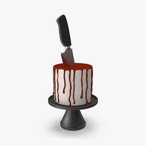 Halloween Cake 3D model