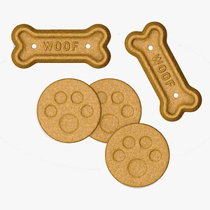 Dog Biscuit 3D model