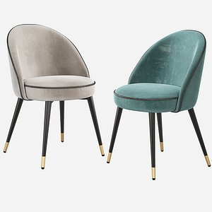 3D cooper dining chair