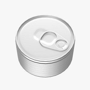 3D model Tin Can 2