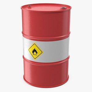 crude oil barrel model