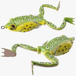 3D RUNCL Topwater Frog Lure