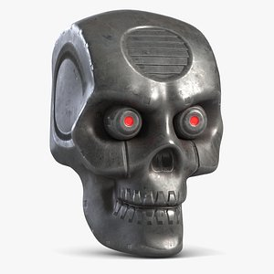 Robot Head 1 3D
