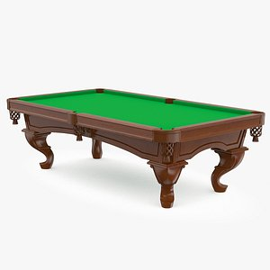 Billiard table v1 3D