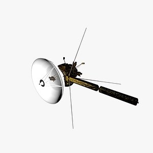 cassini huygens sonda 3D model